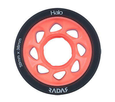 Radar - Halo 93a Pink roller derby wheels ( 4 pack )