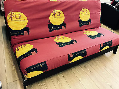 Peace Sunset Futon Cover - Handmade in USA - All Sizes
