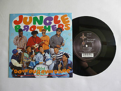 "Jungle Brothers ~ Doin' Our Own Dang 7"" ~ W9754 ~ Near Mint ~ 1990 A1/b1 Orig'"