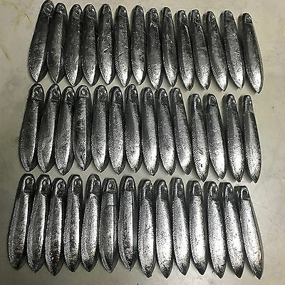 Snapper Reef Deep Sea Fishing Sinkers 4oz x 42  Other sizes available