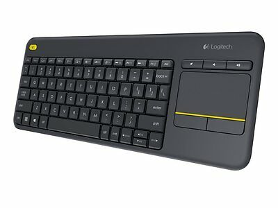 Tastiera Wireless Logitech Touch K400 Plus Qwerty Layout Italiano con Touchpad