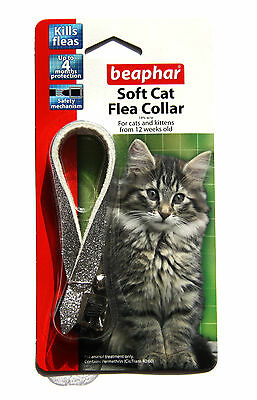 Beaphar Cat Flea Soft Collar Silver Glitter - Valentina Valentti UK