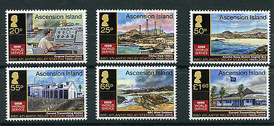 Ascension Island 2016 MNH BBC Atlantic Relay Station 50th Anniv 6v Set Stamps