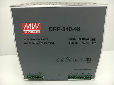 Meanwell DRP-240-48 Power Supply 48v