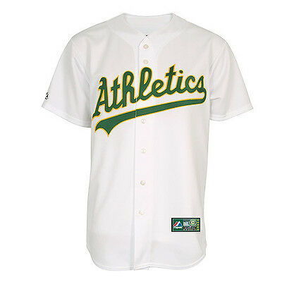 MLB Baseball Trikot Jersey OAKLAND ATHLETICS A's - Home white - von Majestic