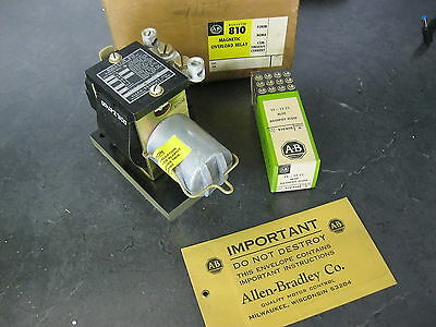 ALLEN BRADLEY 810-A01D  Magnetic Overload Inverse Time Current Relay