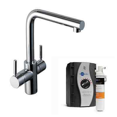 InSinkErator 3N1C | Instant Hot Water Tap in Chrome | Complete Filter & Tank Kit