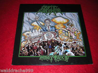 Cryptic Slaughter - Money Talks, Vinyl LP 1987, RR9607