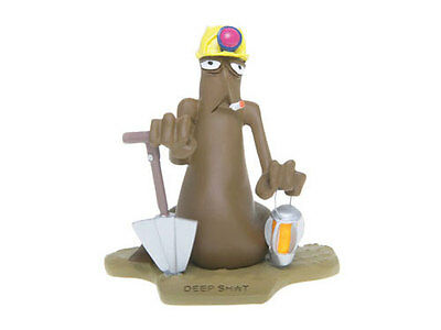 The Turds Figurines - DEEP SH*T Australia - Brand NEW in Box and Log Book zz