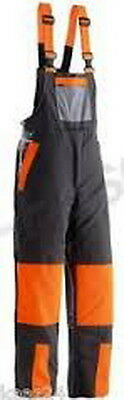 Husqvarna Classic Chainsaw Safety Carpenter Bib and Brace Trousers Large/XL