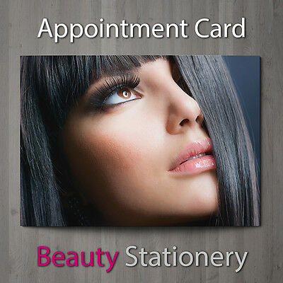 Appointment Card Beauty Salon Hairdressing Spa Make Up Therapist A7