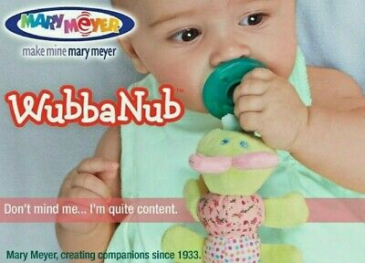 WubbaNub Pacifier for Baby by Mary Meyer NEW