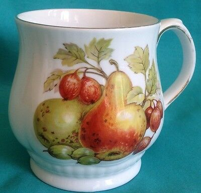 Royal Staffordshire Harvest Fruits Cup Pear/Acorns Hand Painted