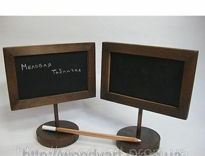 Wooden Table Chalk Board/Sign For Bar/Restaurant