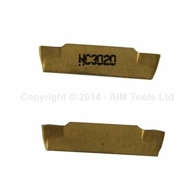 111351 MGMN200 2Pcs Indexable Inserts CNC Lathe Cutting Milling Parting Tools