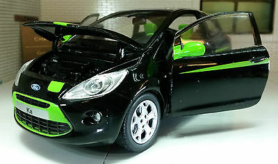 G LGB 1:24 Scale 2009 Ford Ka Grand Prix 1.2 Diecast Model Car Motormax 73382