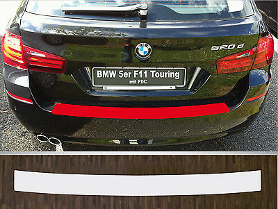 bumper strip protective film clear BMW 5 series F11 Touring with PDC