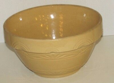 Vintage Robinson Ransbottom  Dough Batter Bowl  36 Measured Cups 12 x 7 Inches