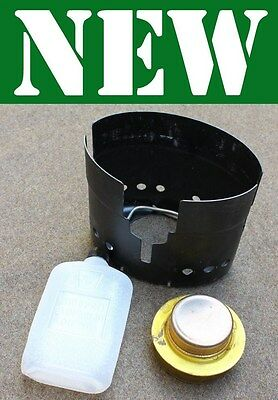 New Swedish Military Army Stove Bottle Alcohol Burner Trangia Svea Cook Mess Kit