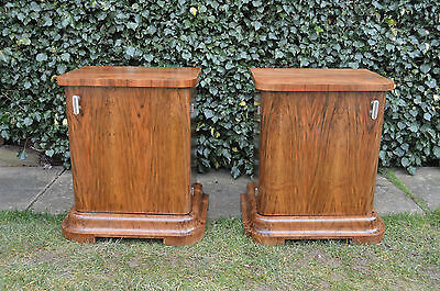 Lovely pair of Art Deco Nightstand/ Bedside Cabinet  FREE SHIPPING