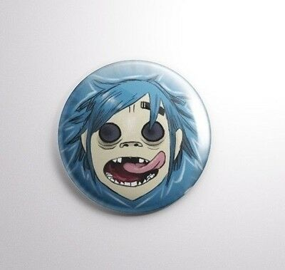 Gorillaz -  Pinbacks Badge Button 25mm 1''++