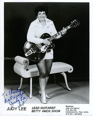 Judy Lee - Inscribed Photograph Signed