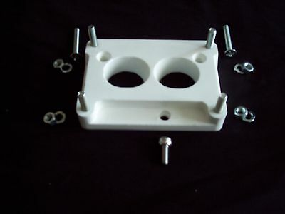 HOLLEY 2 barrel 500, 350, 4412 TO CHEVY TBI 1.75 TBI adapter