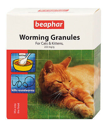 Beaphar Worming Granules for Cats and Kittens - Valentina Valentti UK