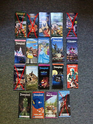 Disneyland & Disney World Resort Park Maps and Guide (pick your quantity & maps)