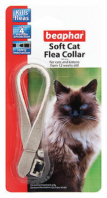 Beaphar Cat Flea Collar, Catwalk Collection Silver - Valentina Valentti UK