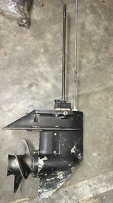 Used Long Shaft Gearbox ~ Tohatsu Mercury Mariner 25HP 30HP 2-Stroke Outboard