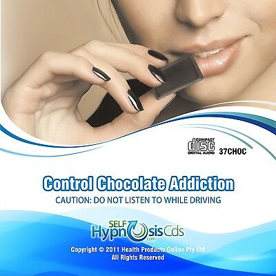 Stop Chocolate Addiction Hypnosis Self Help Audio CD - Hypnotherapy Weight Loss