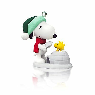 Winter Fun With Snoopy 2014 HALLMARK Ornament - #17 Series - PEANUTS GANG