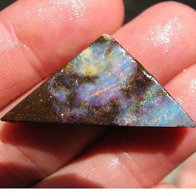 Rough Boulder Opal 30.90 ct 100% Australian Natural Rough Opal From QLD N1891