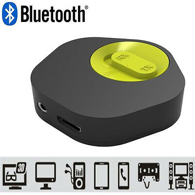 2In1 Wireless Bluetooth 4.1 Music Hifi Audio Receiver Transmitter Adapter Dongle