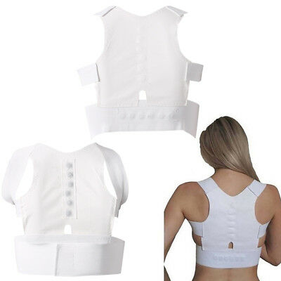 Magnetic Therapy Belt Brace Posture Corrector Body Back Pain Shoulder Support