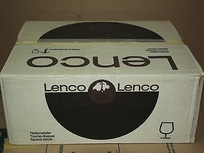 LENCO L 833 DD Direct Drive Vintage Turntable NEW in BOX