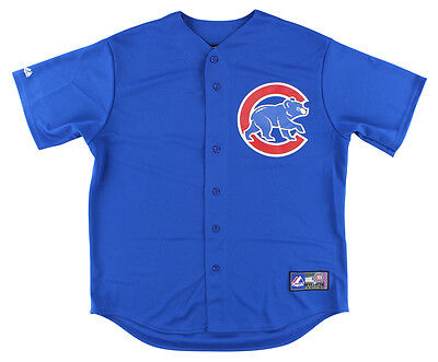 Majestic Mens Chicago Clubs MLB Replica Jersey Royal Blue