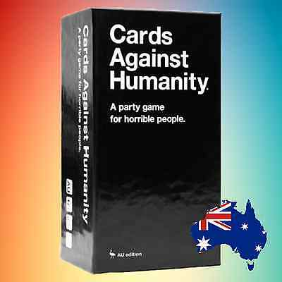 GENUINE Cards Against Humanity: AU Edition Base Game [550 Cards]