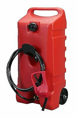 NEW ~ 14 Gallon Portable Fuel Gas Tank Can Jug Container Caddy Transfer Pump