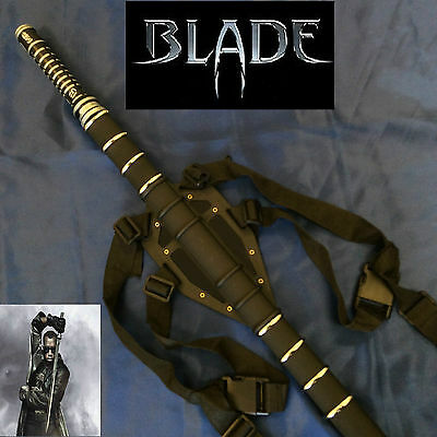 Half-Vampire Daywalker Blade Movie Replica Sword Stainless Steel Blade &Scabbard