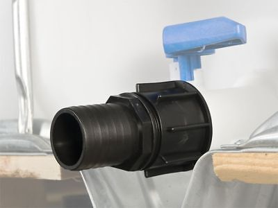 """IBC tank container adapter with 2"""" hose connector #28"""