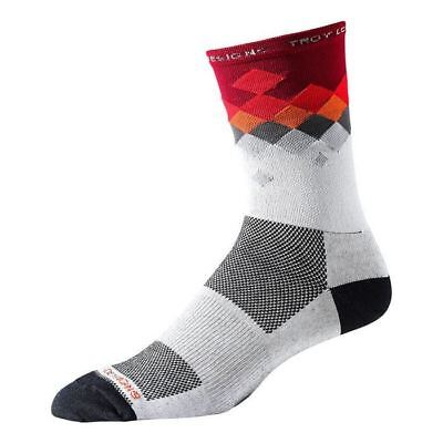Troy Lee Designs Ace Performance Crew Socks Astro Red