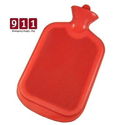 Hot Cold Water Rubber Bottle Bag Therapy Strain Sprain Ache Heat Ice New Choose