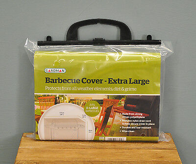 Extra Large Waterproof Wagon BBQ Barbecue Cover in Green by Gardman