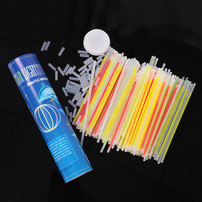 """Multi Coloured 8"""" Glow Sticks Available In Packs Of 15, 30, 45 Or 100 Uk"""
