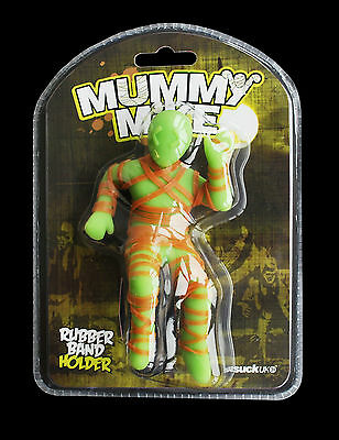 SUCK UK Mummy Mike Rubber Band Holder Stationary Novelty Gift Office Home