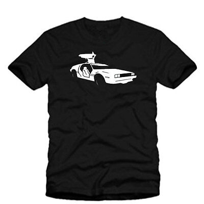 Delorean Retro Back To The Future Mcfly Men Womens Kids T Shirt