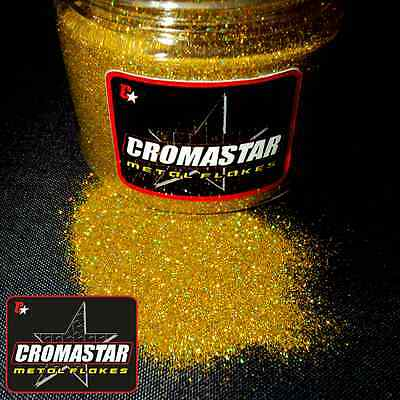 Metal Flake Holographic Gold  Automotive Paint