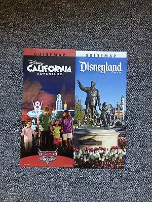 Disneyland / DCA California Adventure January 2014 Park Maps and Guide